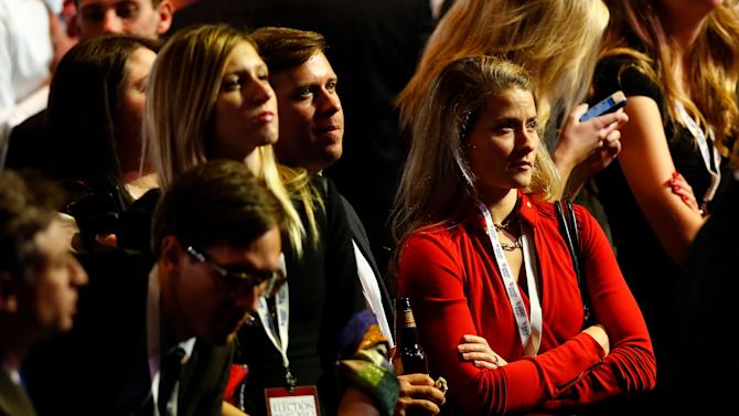 Republican Presidential Candidate Mitt Romney Holds Election Night Gathering In Boston