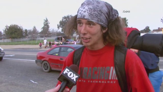 Coffee Run Leads to Hatchet Hitchhiker Arrest