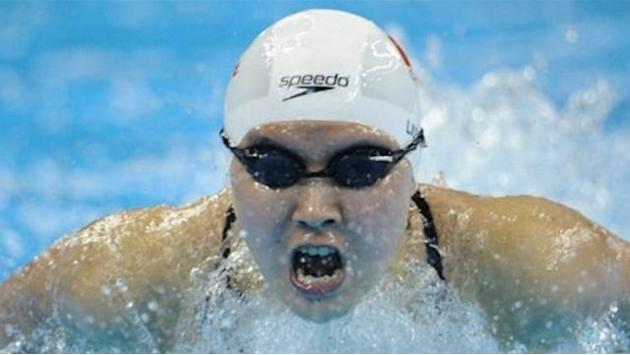 Liuyang swims to Olympic butterfly gold, WR for Soni