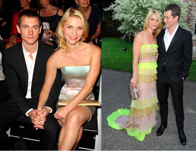 Hugh Dancy and Claire Danes at Giorgio Armani and the Valentino after-party