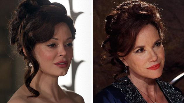"""Once Upon a Time"" - Rose McGowan and Barbara Hershey"