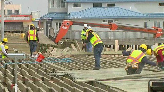 Race to rebuild Jersey shore for Memorial Day