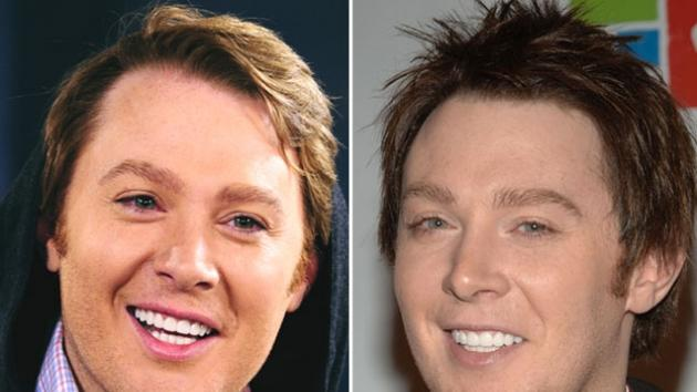 Clay Aiken in 2012 and the singer seen in 2008 -- Getty Images