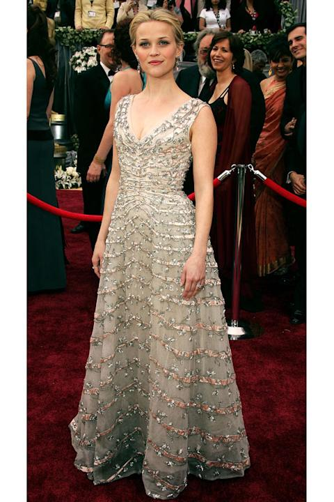 Reese Witherspoon in vintage Christian Dior