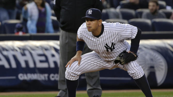 McCann homers, not A-Rod, to lead Yankees over Rays 4-1