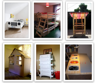 8 Repurposed IKEA's items for your kid's room