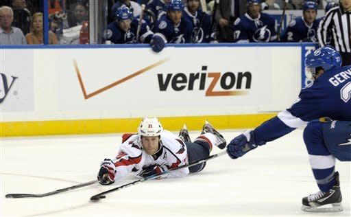 Stamkos' OT goal lifts Lightning past Capitals