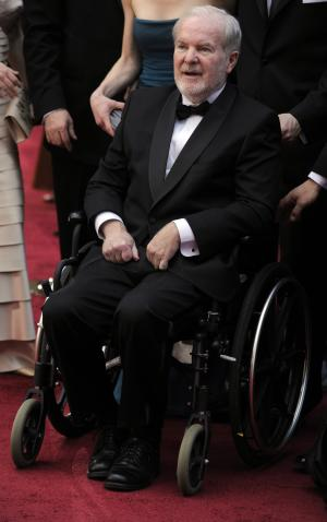 FILE - This March 7, 2010 file photo shows Wash. Gov. Booth Gardner arriving at the 82nd Academy Awards in Los Angeles. Gardner died Friday, March 15, 2013, after a long battle with Parkinson's disease. He was 76. (AP Photo/Chris Pizzello, file)