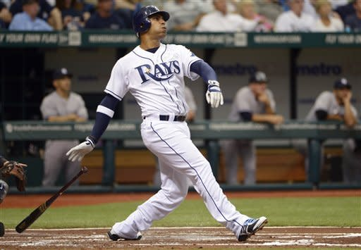 Pena hits slam, then adds winning single vs Rivera
