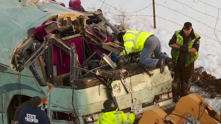 Survivors of Ore. bus crash prepare to go home