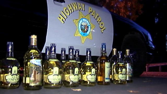 Cops Find Liquid Meth in Tequila Bottles