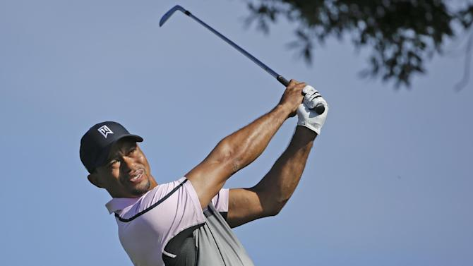 Tiger opens with a 72 on tough South Course