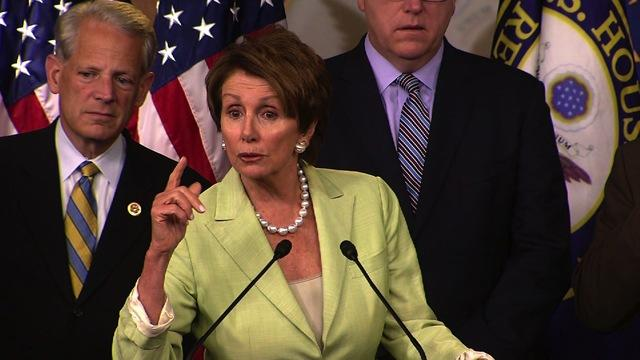 "Pelosi: American people would be ""losers"" in government shutdown"