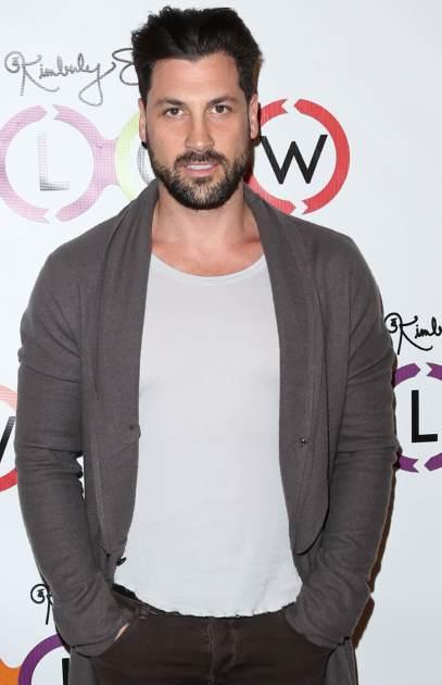 Maksim Chmerkovskiy attends the opening of Glow Bio organic smoothie and juice bar at Glow Bio on November 14, 2012 in West Hollywood, Calif. -- Getty Premium