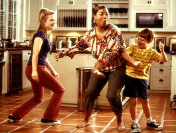 Kimberly J. Brown , Queen Latifah and Angus T. Jones in Touchstone's Bringing Down The House