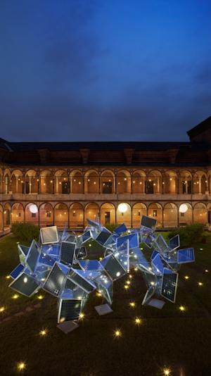 Panasonic's Photosynthesis, at the Salone Internazionale del Mobile