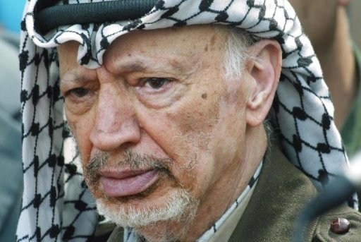 <p>The Palestinians want an international probe into the death of former president Yasser Arafat, seen here in 2002, after an investigation showed he may have been poisoned.</p>