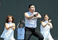 Psy wows crowd at Penang BN Chinese New Year party