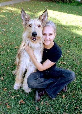 Author Kate DiCamillo on the set of 20th Century Fox's Because of Winn-Dixie