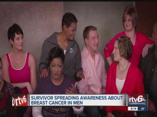 Man who survived breast cancer advocates awareness among other men