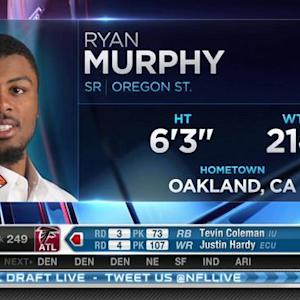 Seattle Seahawks pick safety Ryan Murphy No. 248 in 2015 NFL Draft