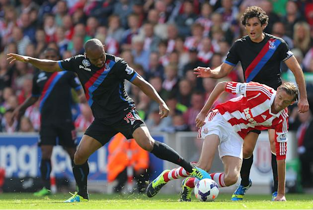 Soccer - Barclays Premier League - Stoke City v Crystal Palace - Britannia Stadium