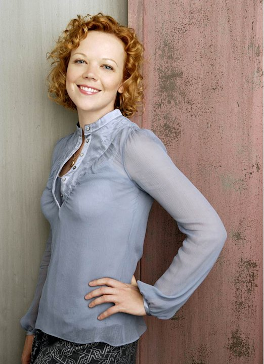 Emily Bergl stars as Annie in Men in Trees. 