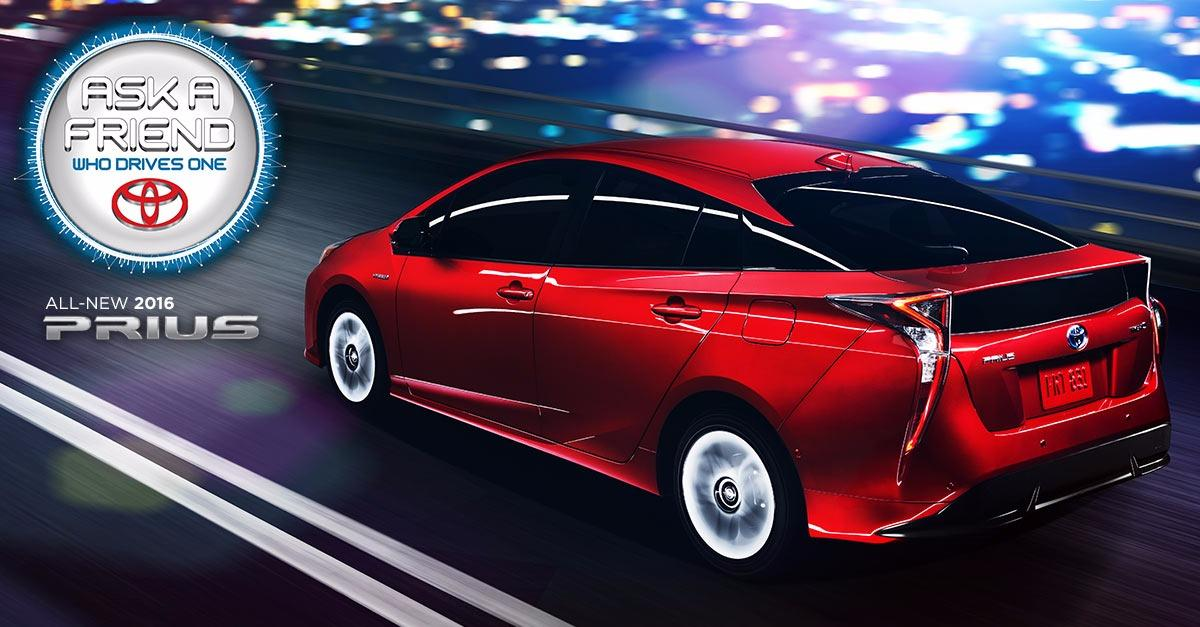 Checkout the New Look of the 2016 Prius