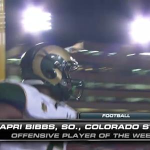 Mountain West Football Players of the Week