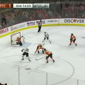 Steve Mason Save on Patrick Sharp (05:40/2nd)