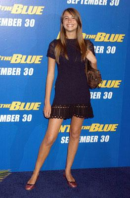 Willa Holland at the Westwood premiere of MGM/Columbia Pictures' Into the Blue