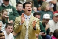 FILE - This Feb. 23, 2013 file photo shows New Mexico head coach Steve Alford directing his team against Colorado State in the first half of an NCAA college basketball game in Fort Collins, Colo. UCLA has hired New Mexico's Alford as its new head basketball coach, according to reports Saturday March 30. 2013.  (AP Photo/David Zalubowski, File)