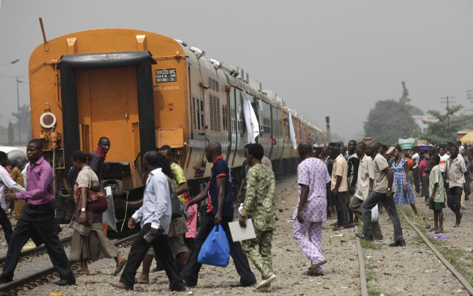 Nigeria railroad project connects 2 major cities