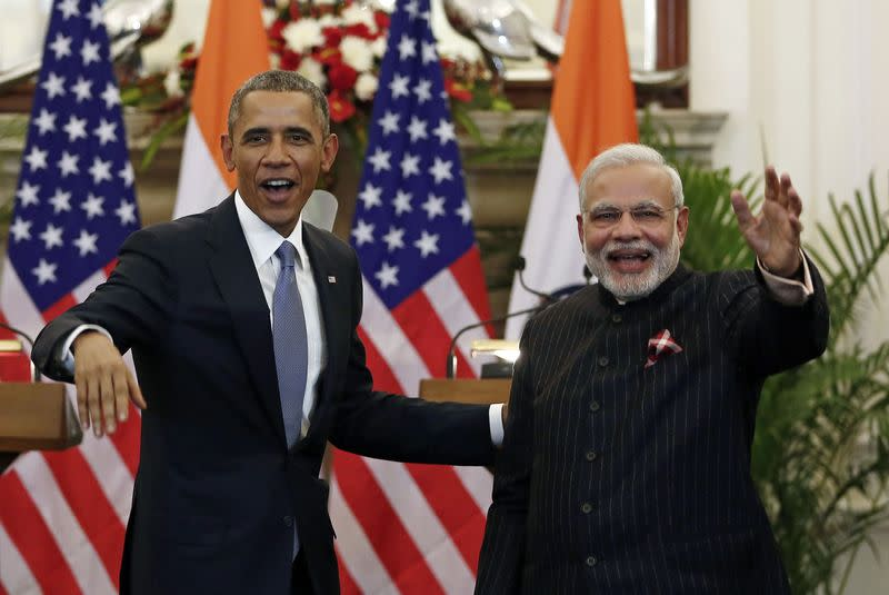 Obama backs India's solar goals, seeks support for climate talks
