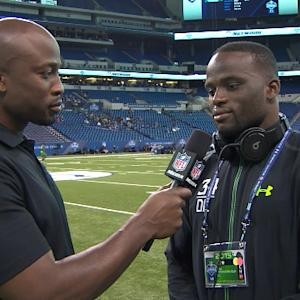 UCLA defensive end Owamagbe Odighizuwa on combine performance