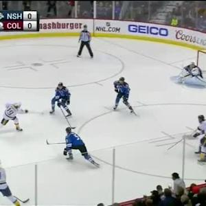 Semyon Varlamov Save on Calle Jarnkrok (02:04/1st)