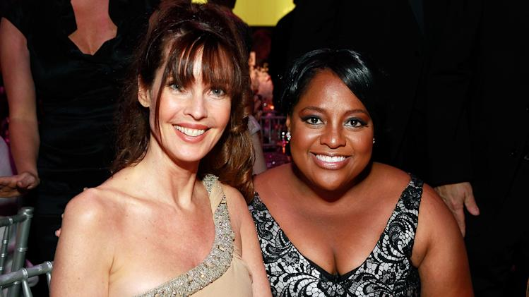 IMAGE DISTRIBUTED FOR NORTH SHORE-LIJ - Carol Alt, left, and Sherri Shepherd seen at North Shore-LIJ Health System Spring Gala, on Thursday, April, 25, 2013 in New York, NY. (Photo by Mark Von Holden / Invision for North Shore-LIJ /AP Images)