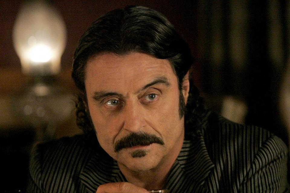 Ian McShane stars in Deadwood on HBO.