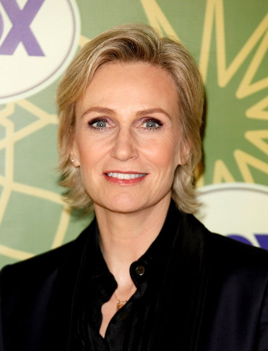 "Jane Lynch (""Glee"") attends the 2012 Fox Winter TCA All-Star Party at Castle Green on January 8, 2012 in Pasadena, California."