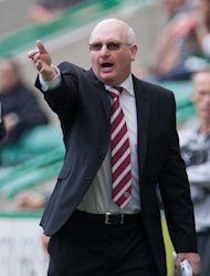 Hearts manager John McGlynn has his mind on footballing issues