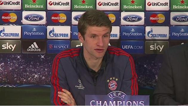 Muller looking forward to Arsenal match
