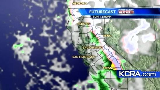 Sunday Weather Update for Northern California 12.23