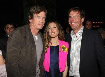 Thomas Haden Church , Sarah Jessica Parker and Dennis Quaid at the New York City premiere of Miramax Films' Smart People