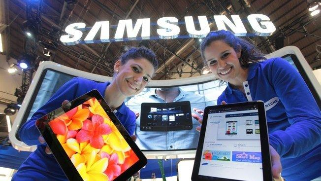 Samsung reportedly charging out the gates in 2014 with 4 new tablets
