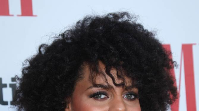 Marsha Ambrosius arrives at the BMI Urban Awards honoring Mariah Carey held at the Saban theatre on Friday Sept 6, 2012, in Beverly Hills, Calif. (Photo by Arnold Turner/Invision for BMI/AP Images)