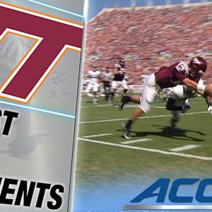 Virginia Tech's Michael Brewer Scores on Wacky Play | ACC Must See Moment