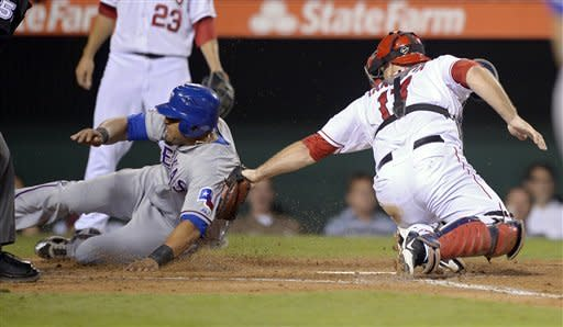 Beltre's 9th-inning HR puts Rangers past Angels