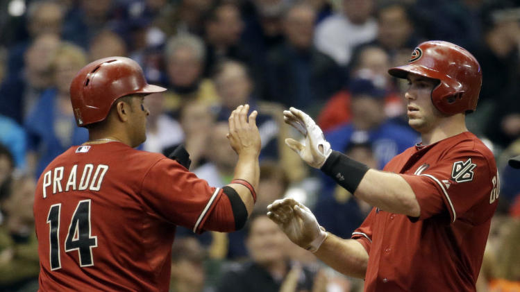 Arroyo, Goldschmidt lift Diamondbacks over Brewers
