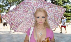 Valeria Lukyanova: The Ukraine's original, creepily accurate, living Barbie doll.