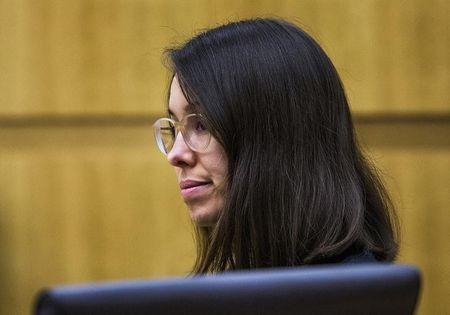 Jodi Arias sits in the Maricopa County Superior Courtroom in Phoenix